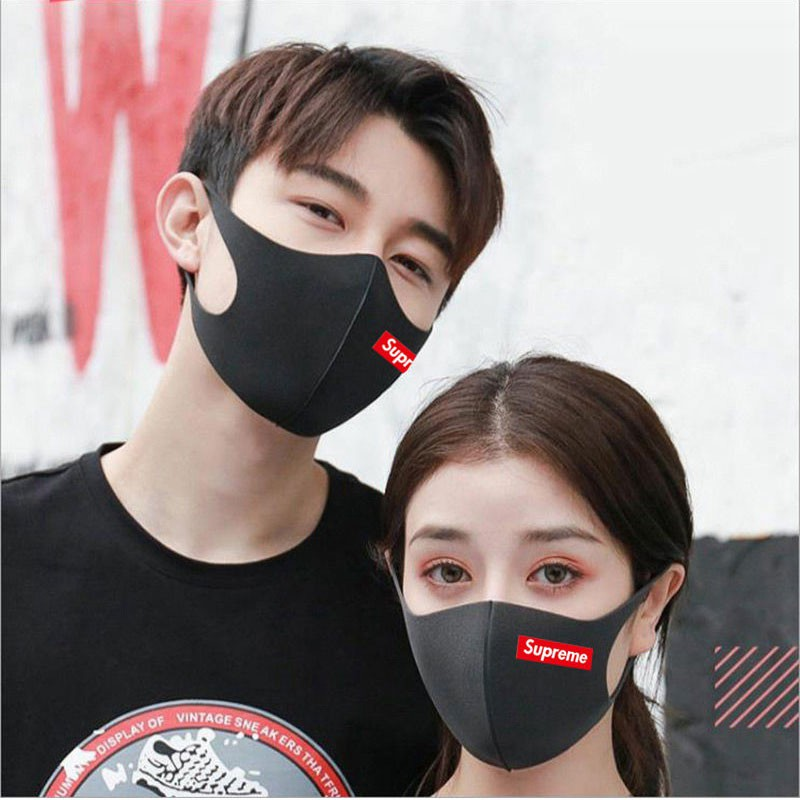 ブラック3D立体マスク 秋冬夏 韓国アイドル芸能人愛用
